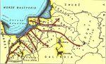 Kierunki ekspansji Zakonu Krzyżackiego na terytorium plemion pruskich w XIII w.