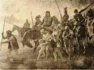 """podbój Prusów odbywał się dosłownie """"ogniem i mieczem"""". Ci którzy przeżyli stali się poddanymi zakonu, tylko część Prusów, którzy nie wystąpili przeciw Krzyżakom została dopuszczona do przywilejów stając się tzw. wolnymi pruskimi"""