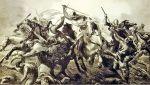 walki Prusów z krzyżakami i krzyżowcami były niezwykle krwawe, a żadna ze stron nie mogła liczyć na pobłażanie. W 1261 r. papież przyznał, że walce legło już 500 braci zakonnych