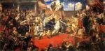 Obraz Jana Matejki -  Hołd pruski 1525