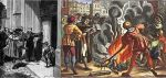Reformacja rozpoczęła się od wystąpienia zakonnika Marcina Lutra, który według tradycji, w dn. 31.10.1517 r. przybił na drzwiach kościoła w Wittenberdze 95 tez o odpustach. Ostateczne zerwanie Marcina Lutra z Kościołem katolickim nastąpiło w momencie spalenia przez Lutra ekskomunikującej go bulli papieskiej.