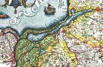 1587. Mapa Zalewu Wiślanego