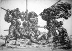 Walka landknechtów o sztandar