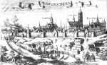 1684. Widok Braniewa według  Christophera Hartknocha