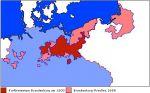 Rozrost terytorialny księstwa brandenbursko-pruskiego w latach 1600-1680