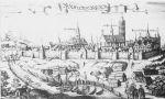 Panorama Braniewa z 1684r.
