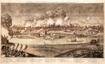 Oblężenie Gdańska przez wojska rosyjskie i saskie w roku 1734. Autor  Georg Paul Busch 1735