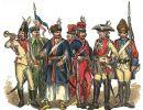 Żołnierze polscy z lat 1697-1795 wg Matejki