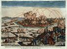 twierdza Gdańsk oblegana była w okresie marzec-maj przez X korpus Wielkiej Armii dowodzony przez marszałka Josepha Lefebvre (1755-1820). Początkowo było to 18 tysięcy żołnierzy, ale korpus był stopniowo wzmacniany przez cesarza Napoleona, któremu bardzo zależało na zdobyciu Gdańska i jego bogactw. Korpus liczył ostatecznie 26 tysięcy żołnierzy, a liczba wojska zaangażowanych łącznie w działania dochodził do 46 tysięcy.