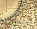 Zalew Wiślany (Frische Haff, Zatoka Świeża) na mapie z 1925 r.