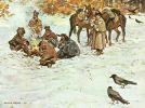 Obozowe ognisko. Obraz Kossaka
