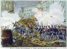 18-19.03.1848 r. walki na ulicach Berlina między demonstrantami a wojskiem pruskim