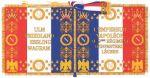 Sztandar 9 pułk piechoty lekkiej - przydomek - l'Incomparable, czyli Niezrównani nadał im Napoleon po bitwie pod Marengo.