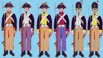 1806. Umundurowanie piechoty pruskiej