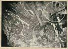fotografia przedstawia rezultat bombardowania Lipowiny (Lindenau) w dniu 20.02.1945 r. wykonanego przez bombowce należące do 6 Gwardyjskiej Dywizji Lotnictwa Bombowego (6GBAD). Wg meldunków załóg i oceny zdjęć zniszczono do 30 budynków, wywołano 2 ogniska pożarów, zaliczono 5 trafień w linie okopów.