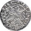srebrny grosz z 1520 r. być może wykonany ze srebra z zarekwirowanego na rozkaz krzyżackiego wielkiego mistrza Albrechta z kościołów warmińskich i pruskich kościelnych naczyń. Trzy naczynia zrabowano z kościoła w Lipowinie.