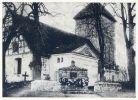 kościół ewangelicki i pomnik poległych w I wojnie światowej