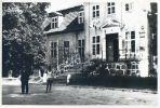 zdjęcie pałacu z lat 70-tych XX w. podczas jego remontu. Facebook- Braunsberg – Braniewo w opisach i fotografii