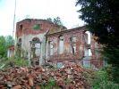 2009. Elewacja tylna pałacu. Zdj. www.zamki.rotmanka.com