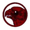 Emblemat 51 pułku myśliwskiego JG51 Mölders