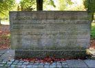 Pomnik na cmentarzu żołnierzy Armii Radzieckiej w Giżycku, gdzie spoczywa Grigorij Połujanow