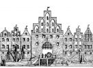 Gdyby Brama Wysoka przetrwała próbę czasu może wyglądałaby tak jak pochodząca z początku XIV w. Brama Mostowa w Elblągu (inna nazwa Hohe Tor - Brama Wysoka). Wymiary: wysokość 16,75 m, głębokość 13,75 m i szerokość 12,5 m, szerokość przejazdu 5,5 m. Koniec zbliżony do braniewskiej Wysokiej Bramy - rozebrana w roku 1799 ze względu na zagrożenie rychłym zawaleniem. Nowej bramy w tym miejscu już nie wybudowano.