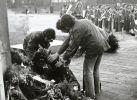 9.05.1976 r. obchody Dnia Zwycięstwa na cmentarzu żołnierzy Armii Radzieckiej w Braniewie  zorganizowane w  31. rocznicę zwycięstwa w II wojnie światowej