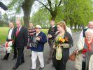 Brat poległego Siergiej Sankin w 2012r. odwiedził cmentarz wraz z rodziną oraz  władzami polskimi i rosyjskimi
