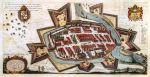 Kolorowa wersja plan Braniewa z 1635r. Został sporządzony w na zamówienie wojsk szwedzkich, na rozmowy delegacji szwedzkiej z delegacją polską. Rysunek Braniewa sporządził Paweł Stertzel- sekretarz rady miasta Braniewa, natomiast Kondrad Gödtke, wykonał matrycę miedziorytu na podstawie tego rysunku. Jest to najważniejsza, najstarsza i jedyna miarodajna ilustracja przedstawiająca fortyfikacje dawnego Braniewa