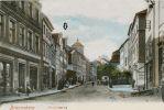 Hotel Deutsches Haus przy Langgasse 70 (ob. ul. Gdańska) funkcjonował co najmniej od początku XIX w. Pierwsza znana wzmianka pochodzi 1807 r. Ostatni raz hotel wzmiankowany jest w 1862 r. Na pocztówce zaznaczone położenie hotelu Deutsches Haus.