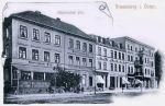 Hotel Rheinischer Hof przy Marktstraße 11 (Kościuszki 70) został kupiony w 1890 r. i w ich rękach pozostał do 1945 r.