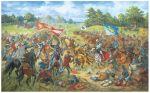 Obraz A. Orlonowa - pułki galicyjskie w bitwie pod Grunwaldem