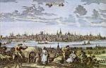 Kolonia (Köln, Cölln) największe miasto w Niemczech w czasach Hanzy miała ponad 40 000 mieszkańców. W średniowieczu miasto kwitło i było jednym z założycieli Związku Hanzeatyckiego.