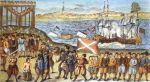 Egzekucja Braci Witalijskich w 1401 r., obraz Nicolausa Sauera, Hamburg z 1701 r. 20.10.1401 – na wyspie Grasbrook w pobliżu Hamburga ścięto 70 piratów tzw. Braci Witalijskich (szw. Vitaliebröderna) z Klausem Störtebekerem na czele. Bracia Witalijscy byli piratami działającymi na Morzu Bałtyckim na przełomie XIV i XV wieku.