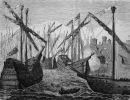 statki hanzeatyckie pod Kopenhagą