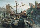 tak to mogło wyglądać w Braniewie… port hanzeatycki w średniowieczu