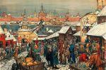 Targ w Nowogrodzie. obraz A. Wasnecowa