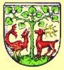 Herb Braniewa z 1927r. opracowany pod kierunkiem Eugena Brachvogel'a, który powrócił do średniowiecznej formy herbu