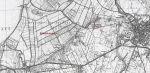 """mapa z 1937 r. z zaznaczonym Huntenbergiem, czyli dzisiejszym Podgórzem. Braunsberger Stadwiesen - dosłownie """"braniewskie łąki miejskie"""" - to łąki i las nazywany w przeszłości również: Harzau, Herzau, Holzmorgen, Hohen Holz a współcześnie Klejnowskie Bagno – teren przynależny do Starego Miasta Braniewo, o które spór toczyły podmiejskie folwarki a zwłaszcza właściciele Huntenberga. Nazwa Holzmorgen wskazuje, że mieszkańcy pozyskiwali tu drewno na opał i budulec."""