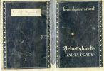 Arbeistkarte tzw. karta pracy - niezbędny dokument w czasie okupacji