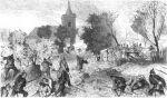 Zacięta walka o kościół w Chlum podczas bitwy pod Sadową w dniu 3.07.1866r.
