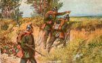 Patrol jegrów wg R. Knötela (1910).