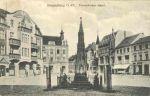 Pomnik postawiony został jegrom poległym w wojnie francusko-pruskiej 1870-1871, a odsłonięto w 1874r.