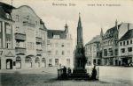 wojnie francusko-pruskiej 1870-1871 poległo 94 żołnierzy 1 batalionu jegrów. Pomnik odsłonięto w 4 rocznicę bitwy pod Colombey stoczonej w dniu 14.08.1870r.