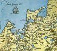 Mapa Prus  Henryka Zell  z 1542r.