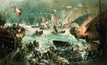 Bitwa na Zalewie 1463. Autor Henryk Baranowski