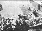 Bitwa w Zatoce Świeżej. Autor Marian Moskwa