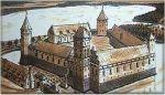 Zamek biskupi w Ornecie był krótko siedzibą Pawła Legendorfa po przybyciu na Warmię w 1460r. Po zajęciu Ornety przez Polaków udał się do Lidzbarka. Orneta w 1340 na 9 lat (do 1349) stała się siedzibą biskupów warmińskich. Przez większość wojny trzynastoletniej był polskim ośrodkiem na Warmii, który Legendorf bezskutecznie próbował odzyskać.