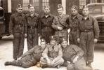 1950. żołnierze jednej z braniewskich jednostek wojskowych