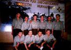 1992-94. Żołnierze w sali tradycji 64 Pomorskiego Pułku Zmechanizowanego im. Strzelców Murmańskich, który powstał na bazie 51 Pułku Zmechanizowanego. Pułk został rozformowany w 1994 r.